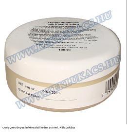 Gyógynövényes frissítő krém 100 ml, Kék Lukács