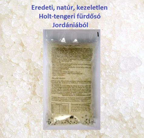 Holt-tengeri fürdősó tasakban 500 gr