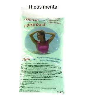 Illatos fürdósó Thetis menta 1 kg