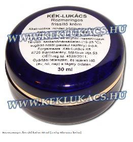 Kék Lukács Rozmaringos frissítő krém 30 ml (a régi Rheuma krém)