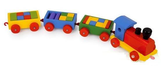 Vonat kockákkal akciós ár 3500 Ft