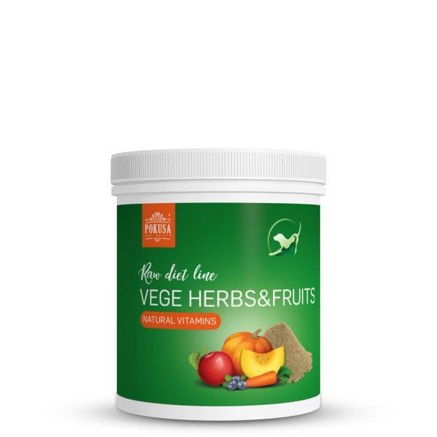 POKUSA Gyógynövény, zöldség és gyümölcs MIX 200 gramm