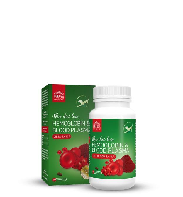 POKUSA Hemoglobin & Vérplazma tabletta (120 db/doboz)
