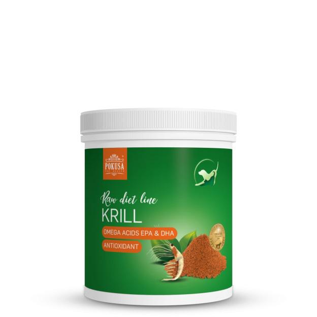 POKUSA Sarki Krill por 150 gramm