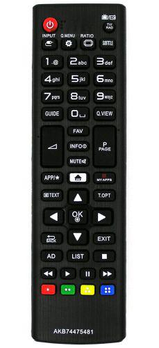 AKB74475481 Utángyártott távirányító LG SMART TV-hez