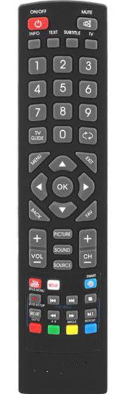 Blaupunkt Smart TV 43/134M-GB-11B netflix, youtube