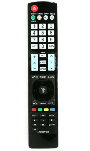 LG AKB72914209 utángyártott távirányító IRC87053