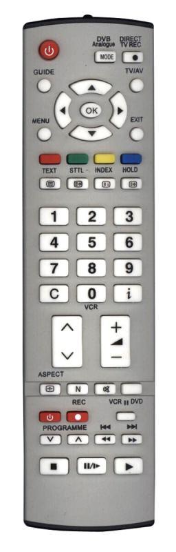 Panasonic EUR765109A távirányító