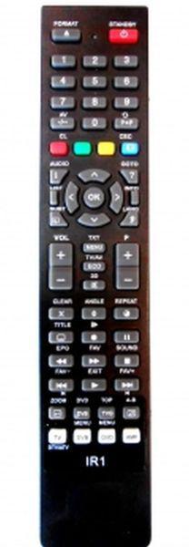 PIL6024 Utángyártott távirányító GRUNDIG LCD-hez IR0008