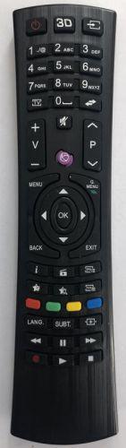 RC4822 utángyártott távirányító TECHNIKA/ VESTEL/HYUNDAI/NAVON/ORION/JVC 3D SMART TV-hez