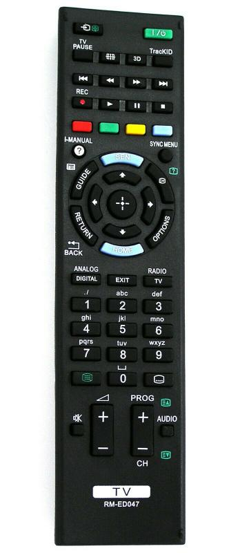 RM-ED047 Utángyártott távirányító SONY LCD/LED TV- 3D BAVARIA