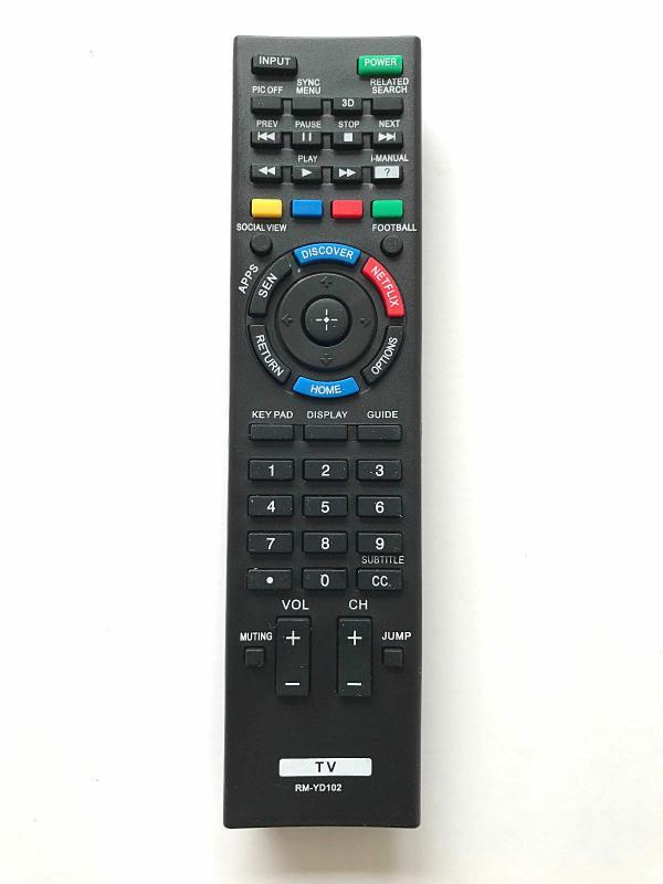 RM-ED058 Utángyártott távirányító SONY SMART TV-hez, NETFLIX