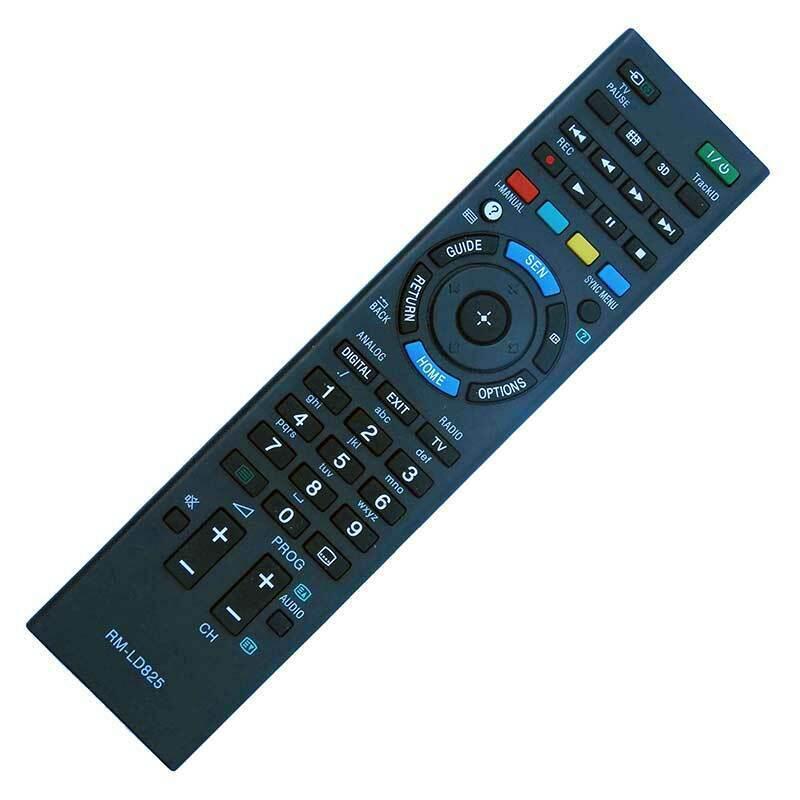 RM-LD825 Utángyártott távirányító SONY LED TV