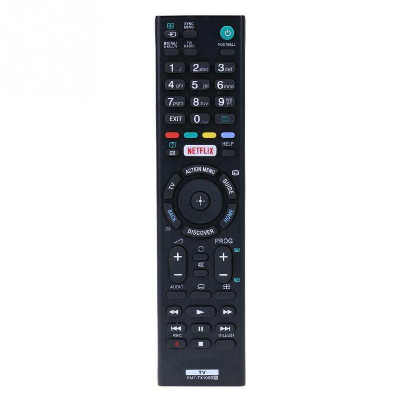 RMT-TX100D Utángyártott távirányító SONY SMART TV -  NETFLIX