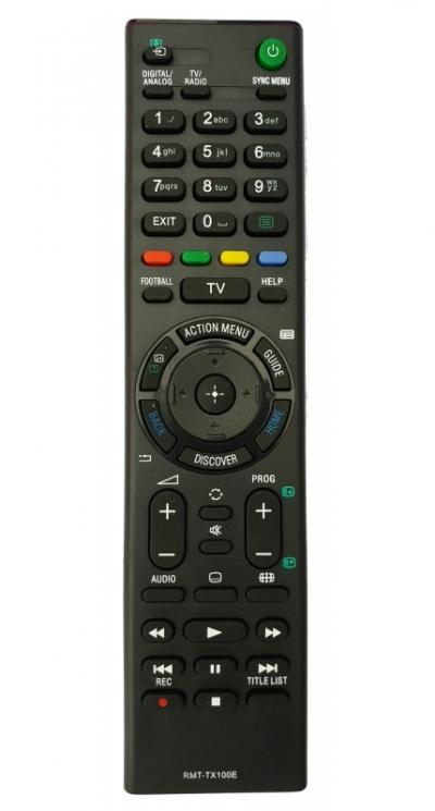 Sony RMT-TX100E utángyártott távirányító LED TV