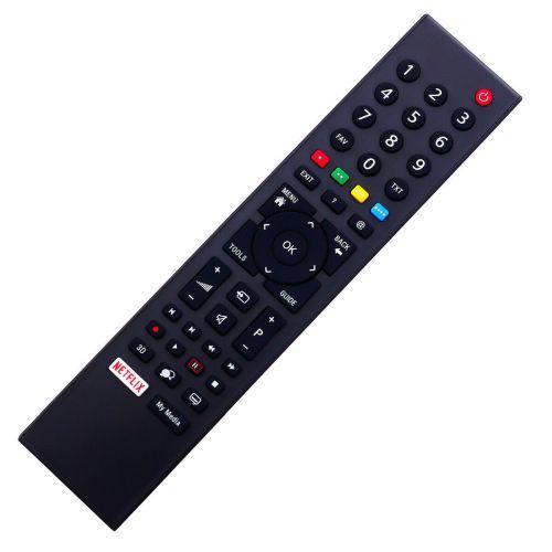 TP7 Utángyártott távirányító GRUNDIG LED TV-hez 3D Netflix