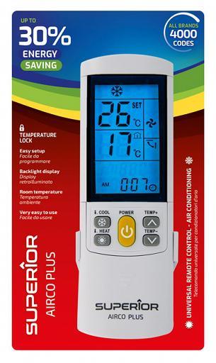 Univerzális Superior airco 4000 légkondicionáló távirányító