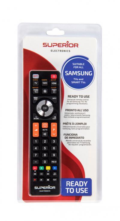 Univerzális távirányító SAMSUNG SMART 3D TV-hez SUPERIOR