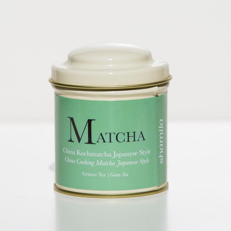China Matcha 65 g fémdobozban