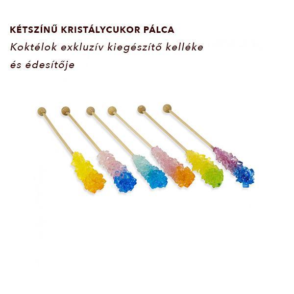 Kandispálca színes (vegyes)