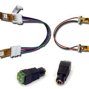 LED szalag csatlakozók