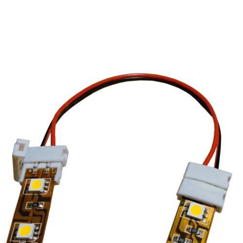 LED szalag Összekötő 8mm (pattintós)
