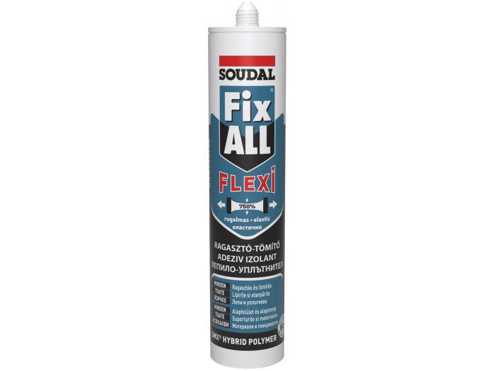 Soudal Fix All Flexi - építési és stukkó ragasztó
