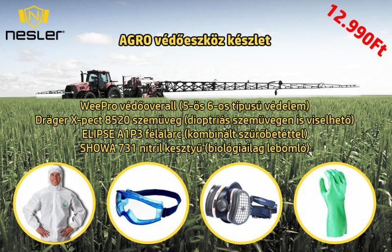 AGRO védőeszköz készlet permetezéshez