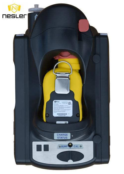 AutoRAE II bölcső ToxiRAE Pro detektorok automata teszteléséhez és kalibrálásához