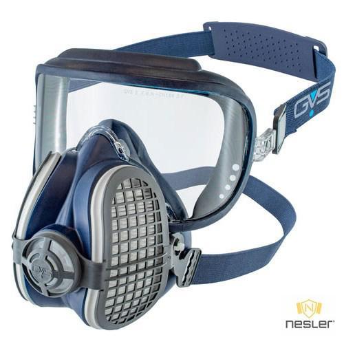 ELIPSE Integra P3 RD félálarc szemvédővel kombinálva, használatra kész