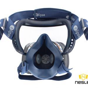ELIPSE Integra A1P3 félálarc szemvédővel kombinálva, használatra kész