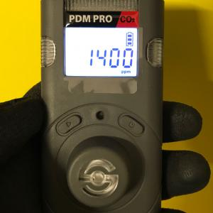 WatchGas PDM PRO CO2 (szén-dioxid) gázkoncentráció mérő