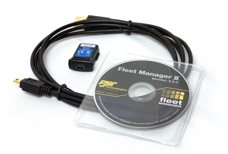 IR csatlakozó készlet BW GasAlert detektorokhoz