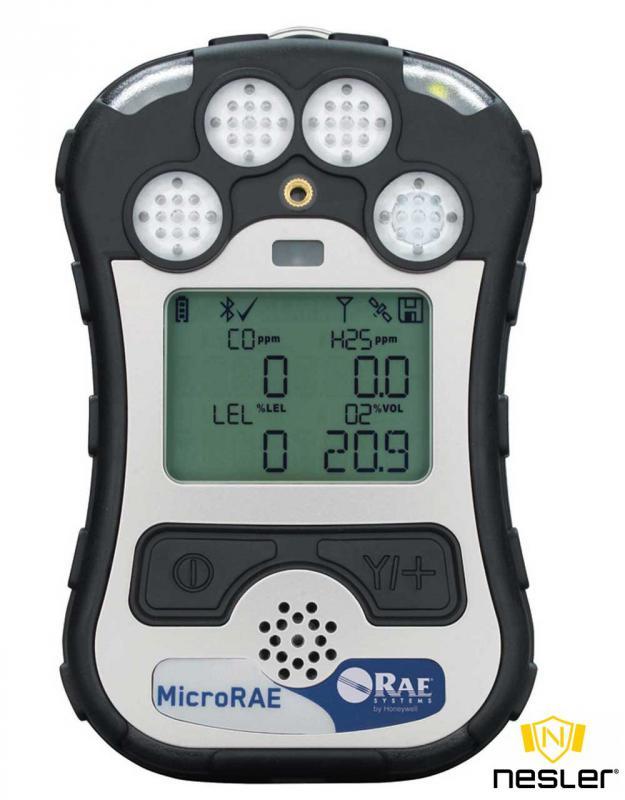 MicroRAE gázdetektor 4 gáz mérésére O2/LEL/H2S/CO