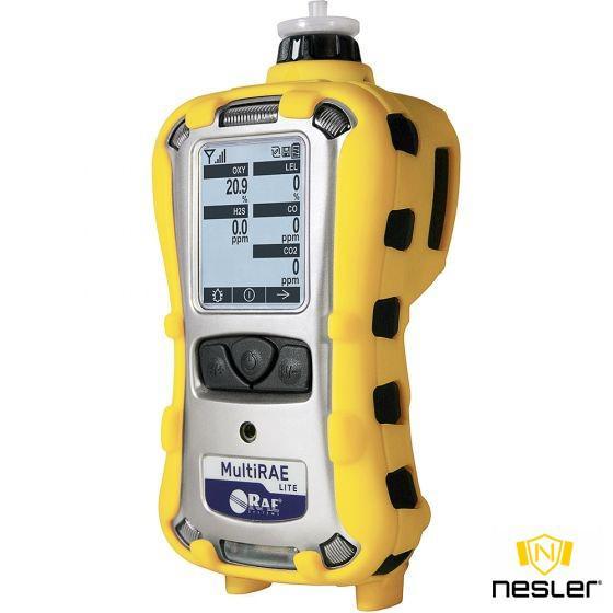 MultiRAE Lite gázkoncentráció mérő 6 féle gáz érzékelésére PID/O2/LEL/CO/H2S/PH3
