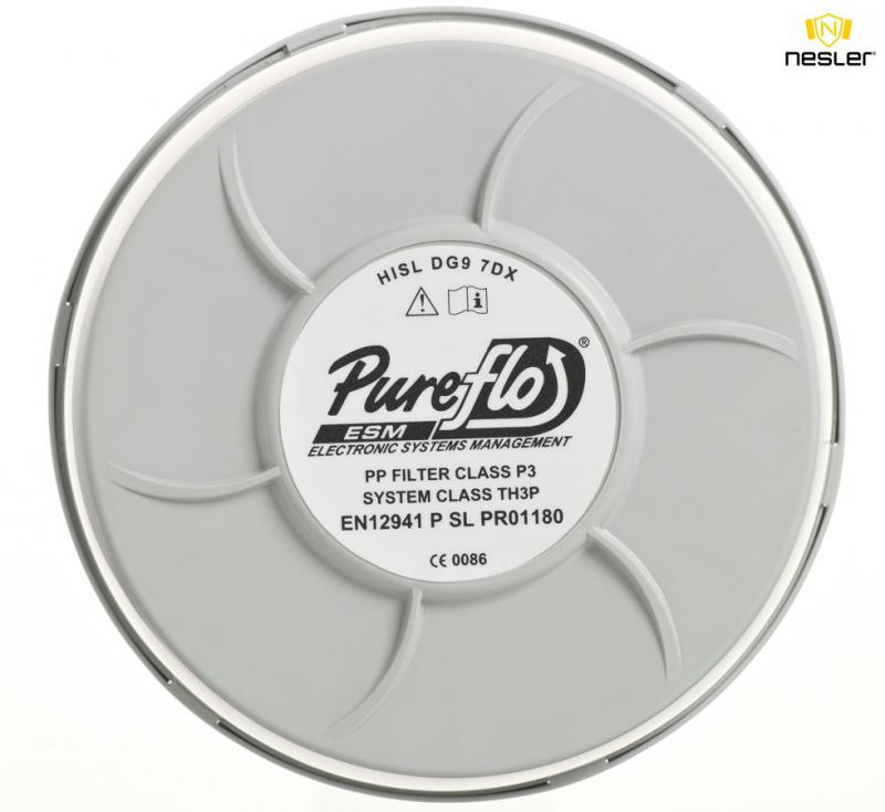 P3 részecskeszűrő PureFlo sisakokhoz