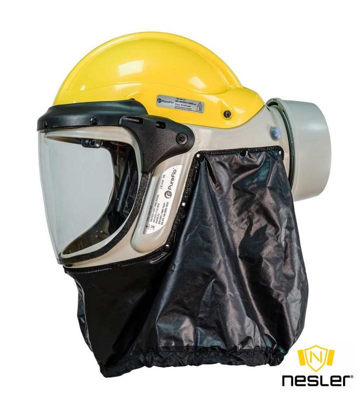 PureFlo PF33 ESM PAPR légzésvédő ipari védősisakkal (ATEX-es)