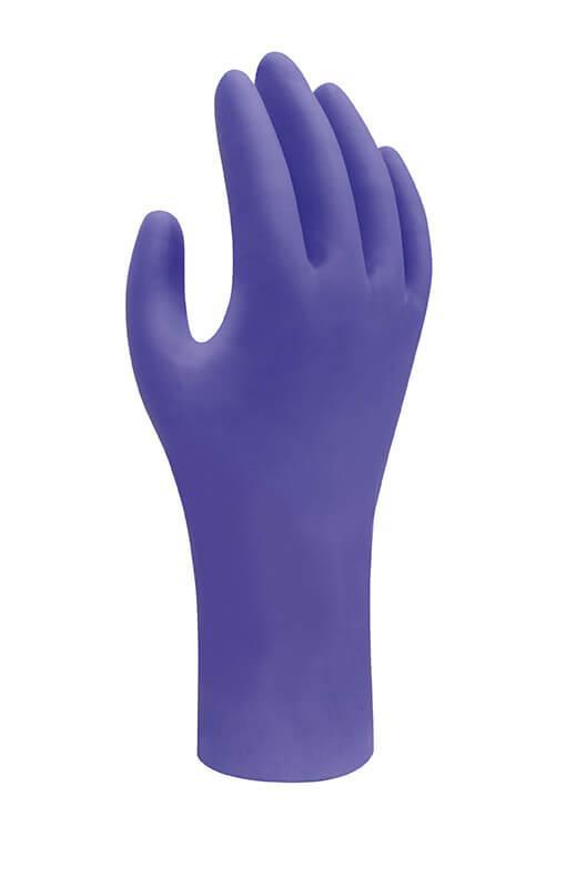 SHOWA 7580 VEGYSZERÁLLÓ egyszerhasználatos nitril kesztyű