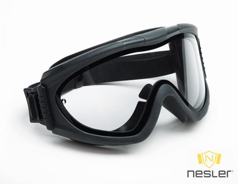 Singer EVASAFE gumipántos szemvédő (gázvédő)