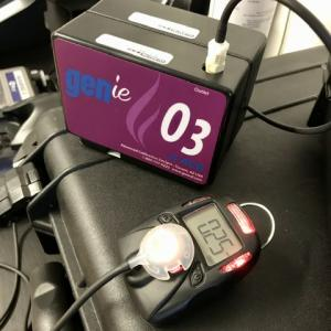 Ózon detektor kalibrálása