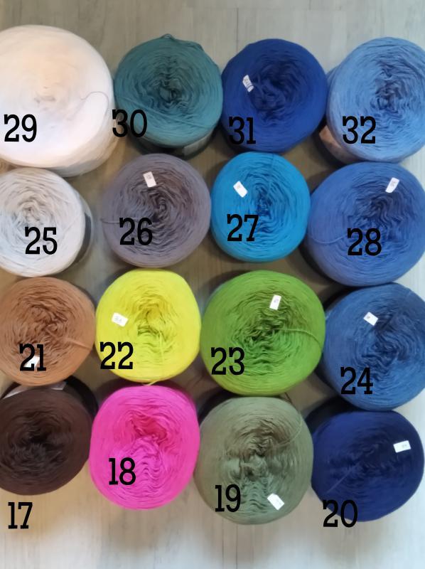 Kokonki egyedi színek 17-32