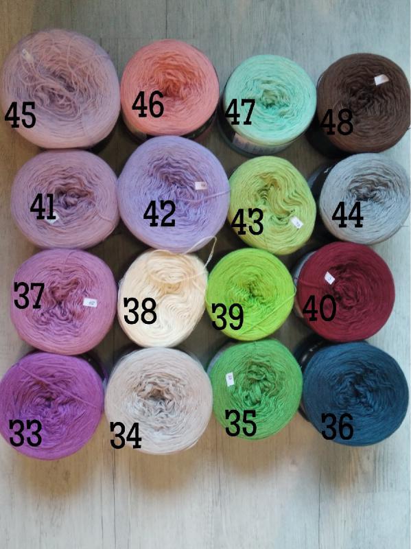 Kokonki egyedi színek 33-48