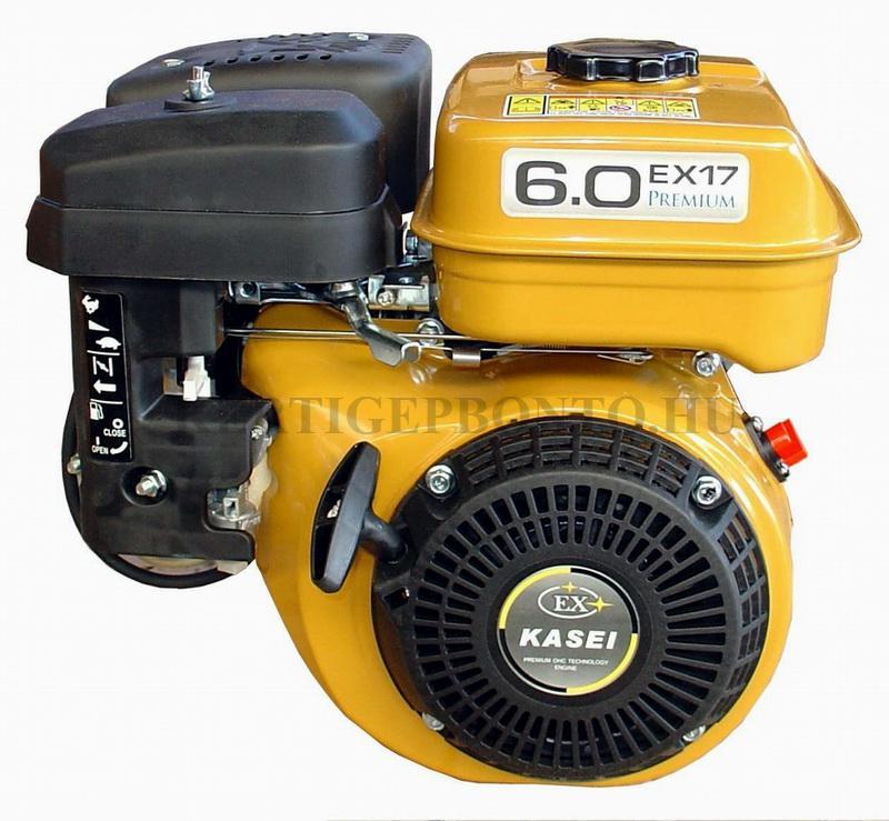 Kasei EX17 vízszintes tengelyű motor ( 19mm főtengely )