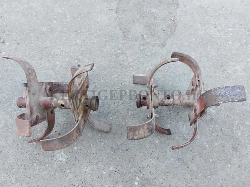 Robi 55 / 56 / 106 kapálógép kapasor ( 4 tagos ) ( bontott ) tárcsa nélkül