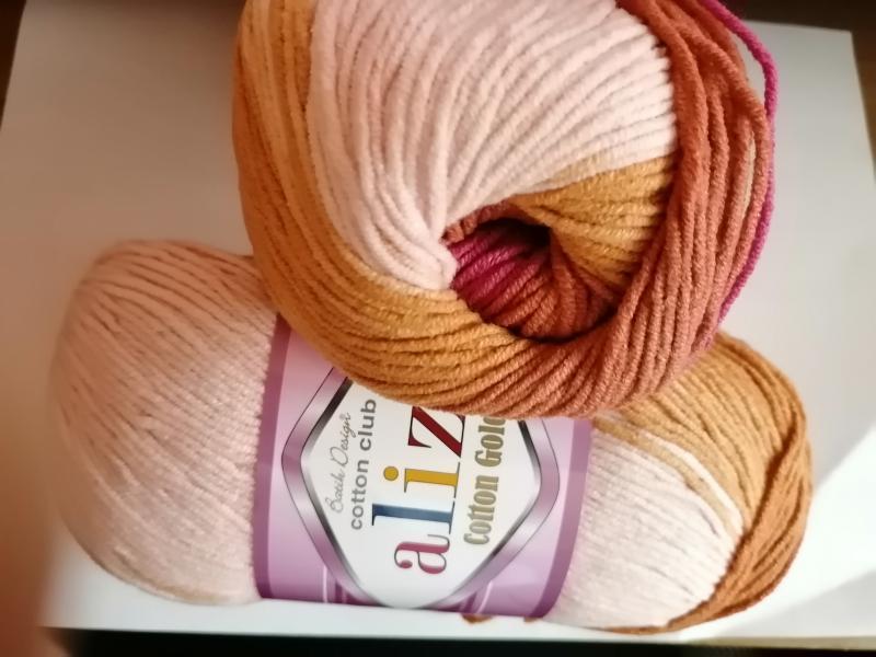 Alize Cotton Gold Batik - 7107