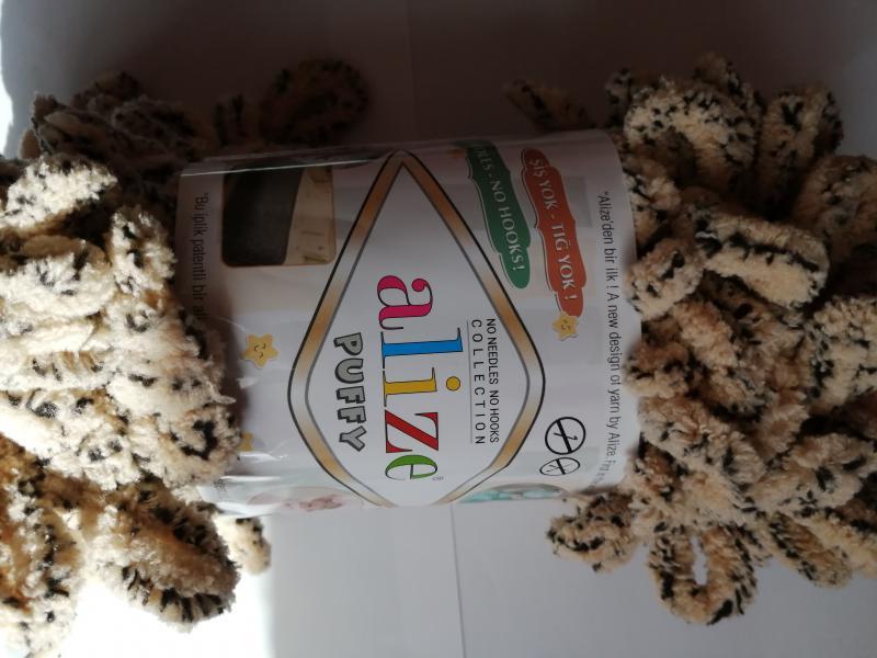 Alize Puffy - 715 - Mákos-barna