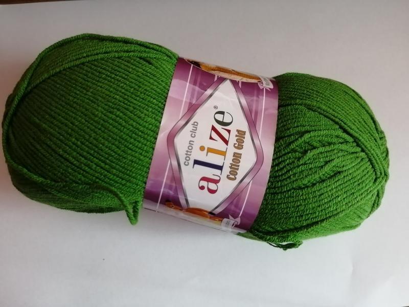 Cotton Gold 126 zöld