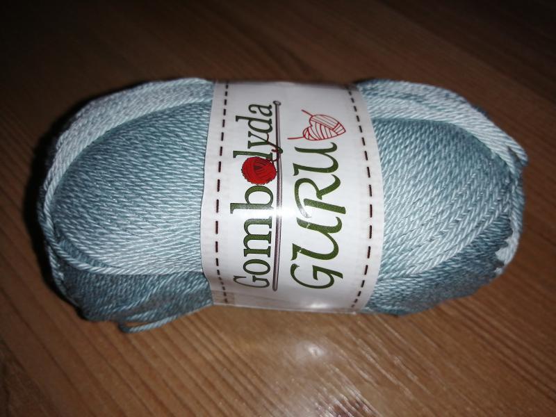 Gombolyda Guru - 7612 - szürkés kék