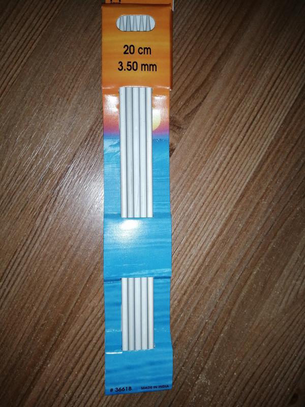 Pony zokni kötötű készlet - 20 cm - 3.5 mm