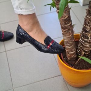 Elegáns lapostalpú cipő